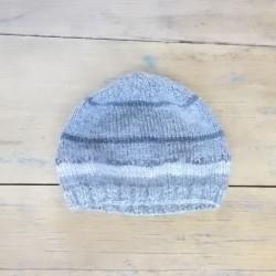 Bonnet 1/2 ans - Gris