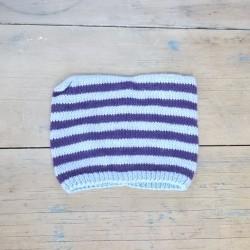 Bonnet 1/2 ans - Violet/Bleu