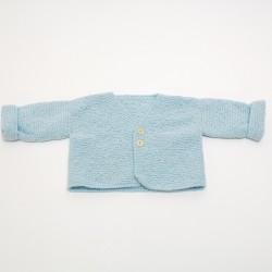 Gilet 6 mois - Bleu clair