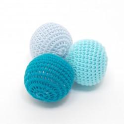 Balles au crochet