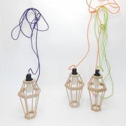 Lampes Design en bois