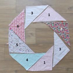 Bavoirs Bandana triangles