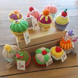 Cupcakes au Crochet