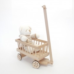 Chariot décoratif
