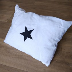 Coussin Rectangle - Blanc...