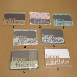 Mini Cartes Anniversaire