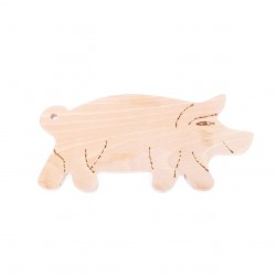 Planche à découper cochon